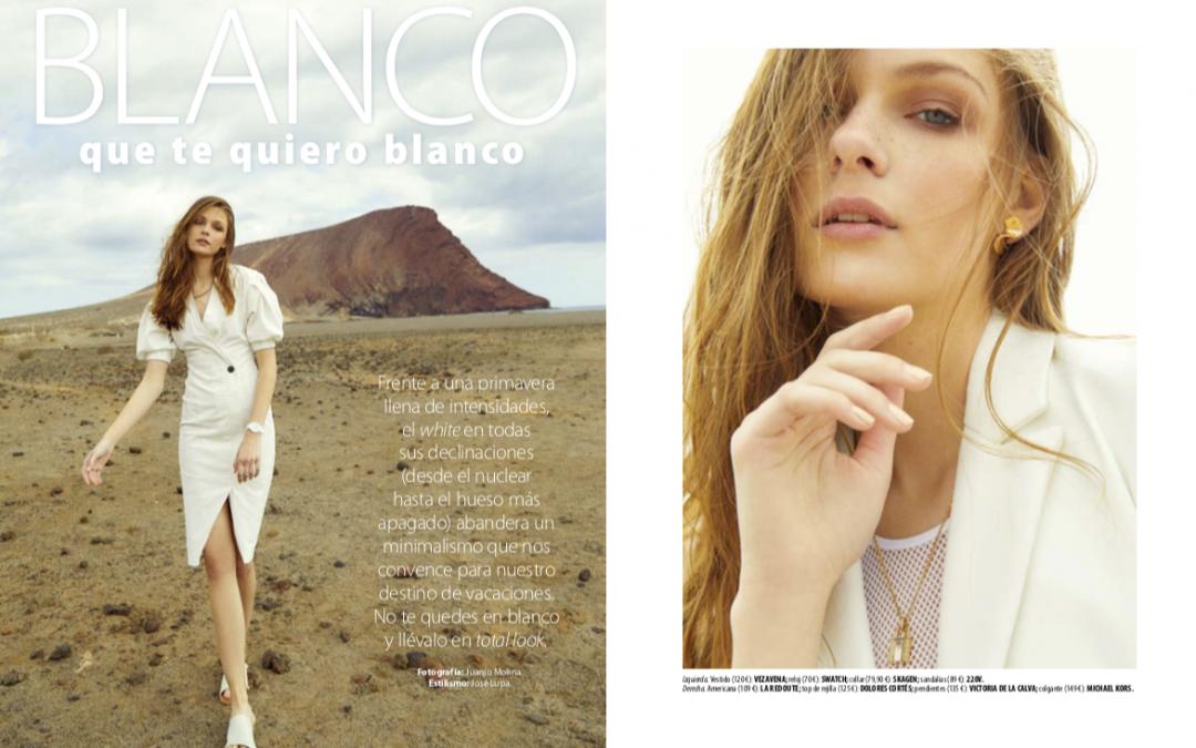 Editorial de moda para Stilo en Tenerife